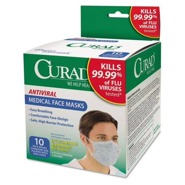 Curad Antiviral Facemasks