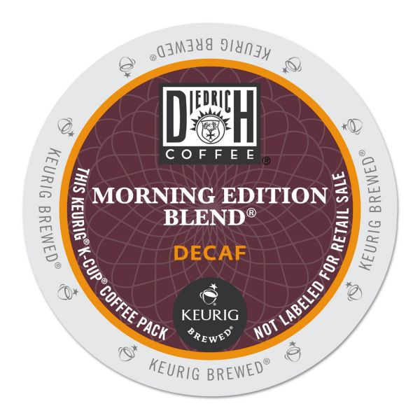 Diedrich Coffee Morning Edition Decaf Coffee K-Cups