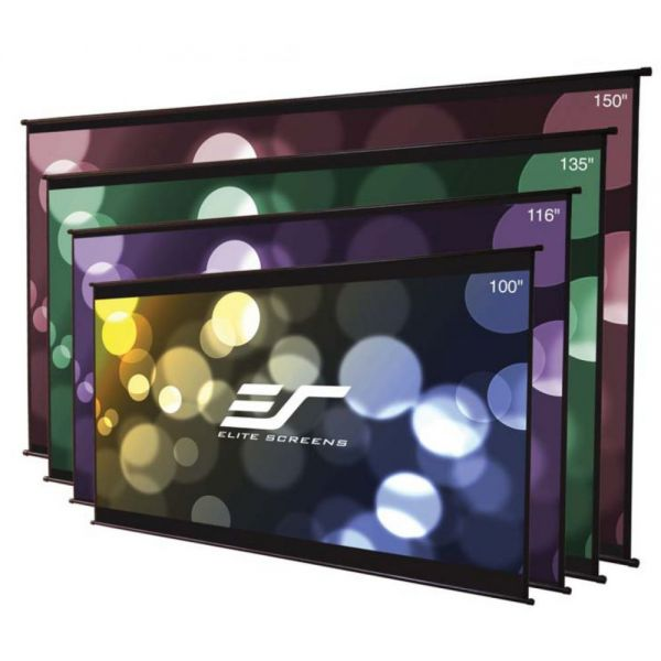 "Elite Screens DIY Wall Projection Screen - 100"" - 16:9 - Wall Mount"