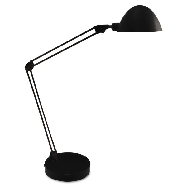 Ledu LED Desk and Task Lamp, 5W, 5 1/2w x 21 1/4h, Black
