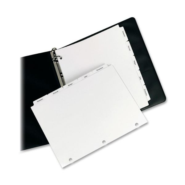 Avery 5-Tab Copier Dividers