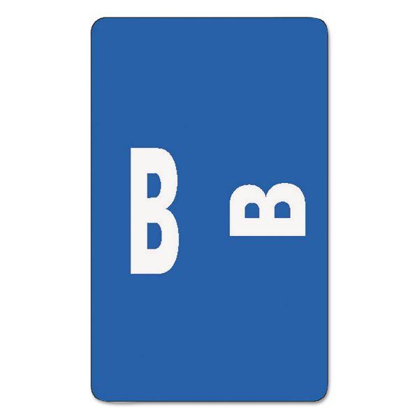 Smead Alpha-Z Color-Coded Second Letter Labels, Letter B, Dark Blue, 100/Pack