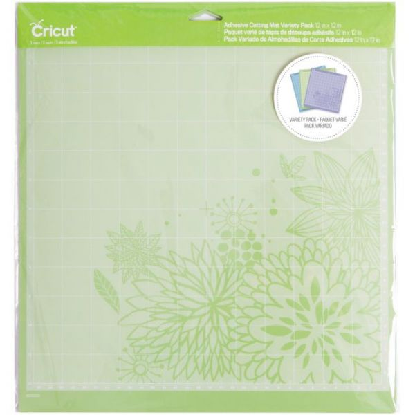 "Cricut Explore Adhesive Back Cutting Mats 12""X12"" 3/Pkg"