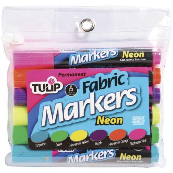 Tulip Fabric Markers 6/Pkg