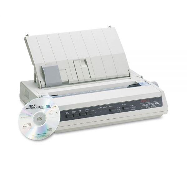 Oki Microline 186 Dot Matrix Printer (Parallel)