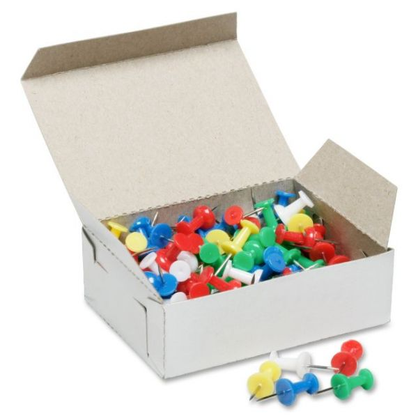 SKILCRAFT Colorful Push Pins