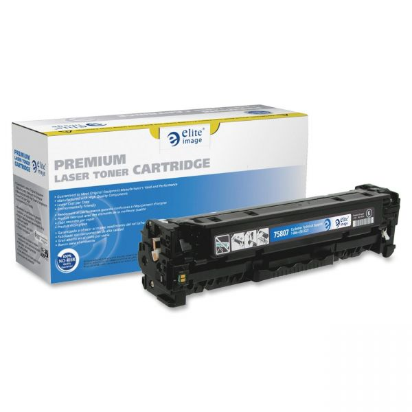 Elite Image Remanufactured HP 305X (CE410X) High Yield Toner Cartridge