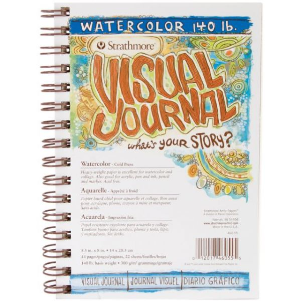 Strathmore Acid Free Watercolor Visual Journal
