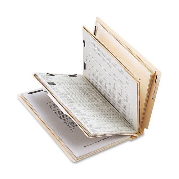 Sparco End Tab Manila Classification Folders