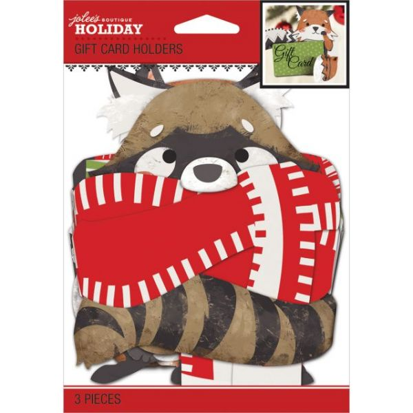Jolee's Christmas Contemporary Gift Card Holders 3/Pkg