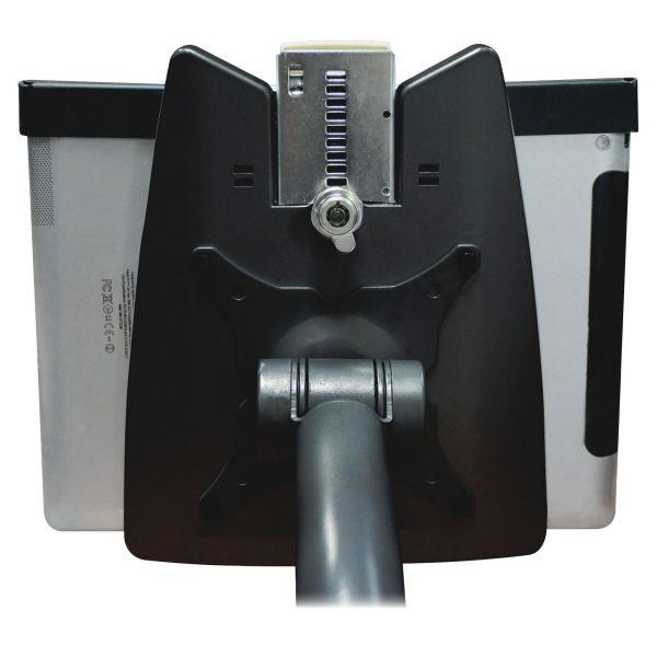 Kantek Tablet Kiosk Stand Locking System, Black