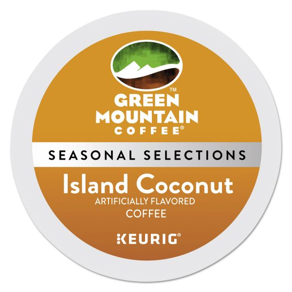 Green Mountain Coffee Roasters Island Coconut Coffee K-Cups