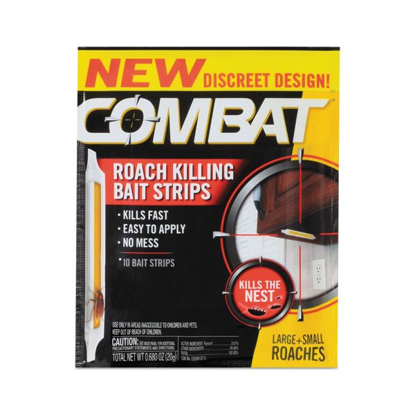 Combat Roach Bait Insecticide Strips