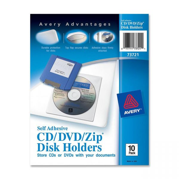 Avery Self-Adhesive Media Pockets