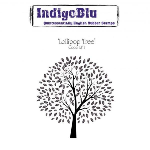 """IndigoBlu Cling Mounted Stamp 5""""X4"""""""