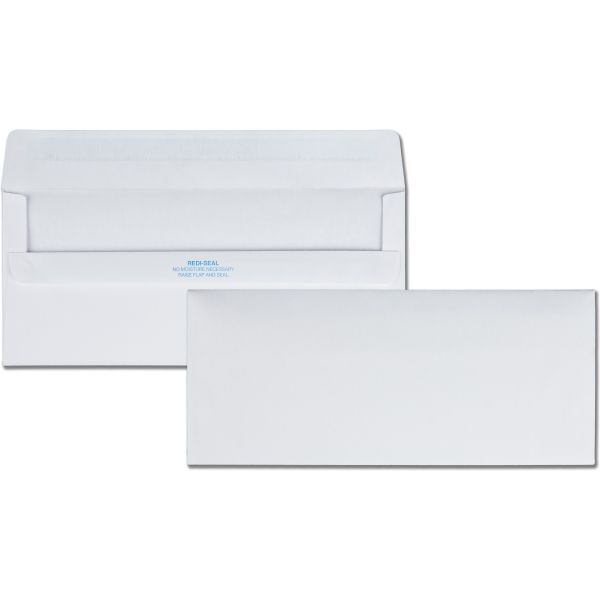 Quality Park Redi-Seal Plain Business Envelopes
