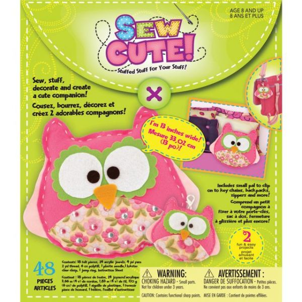 Owl Sew Cute! Felt Kit