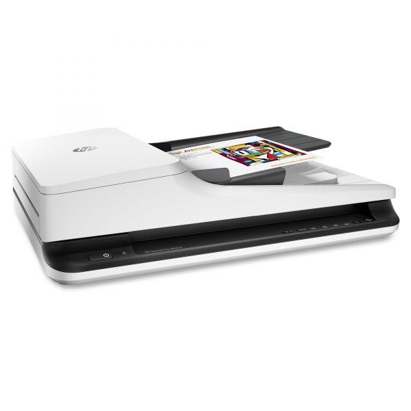 HP Scanjet Pro 2500 f1 Flatbed Scanner, 600x1200dpi, 50-Sheet Auto Document Feeder