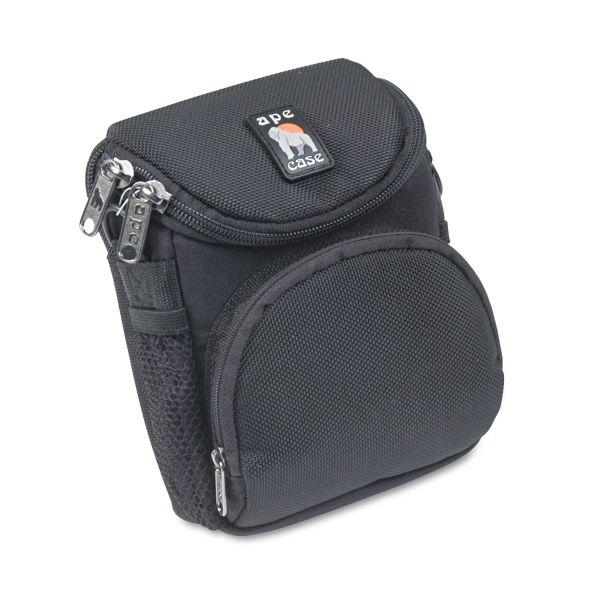 Ape Case Camcorder/Digital Camera Case, Ballistic Nylon, 5 x 2 x 4 1/2, Black