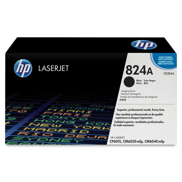 HP 824A Black Imaging Drum (CB384A)
