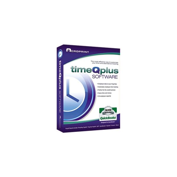 Acroprint timeQplus Network Software