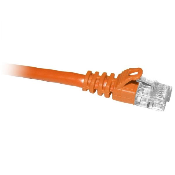 ClearLinks 5FT Cat5E 350MHZ Orange Molded Snagless Patch Cable