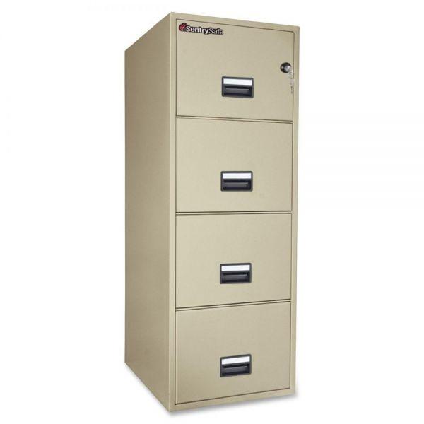 SentrySafe Vertical Fire File Cabinet
