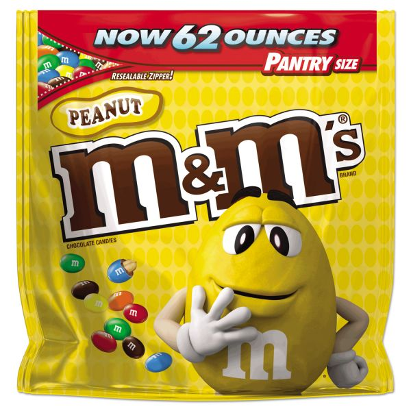 M & M's Milk Chocolate With Peanuts Bite Size Candy