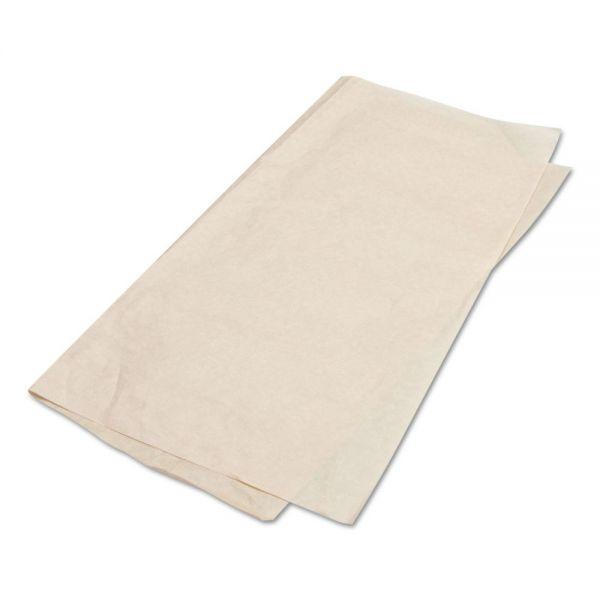 Bagcraft Papercon EcoCraft Grease-Resistant Basket Liner/Sandwich Wrap Paper