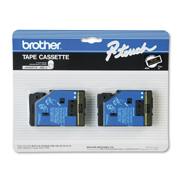 Brother P-Touch Label Tape Cartridges