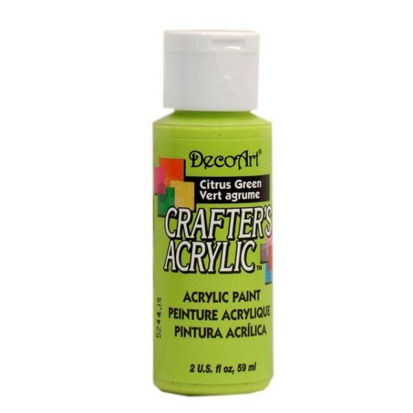 Deco Art Citrus Green Crafter's Acrylic Paint