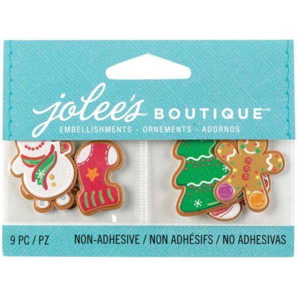 Jolee's Christmas Embellishments 9/Pkg