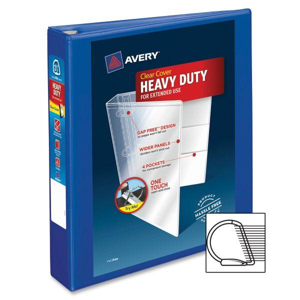 "Avery Heavy-Duty 1 1/2"" 3-Ring View Binder"