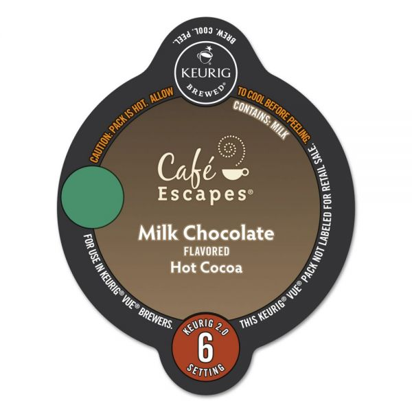 Café Escapes Milk Chocolate Hot Cocoa Vue Cups