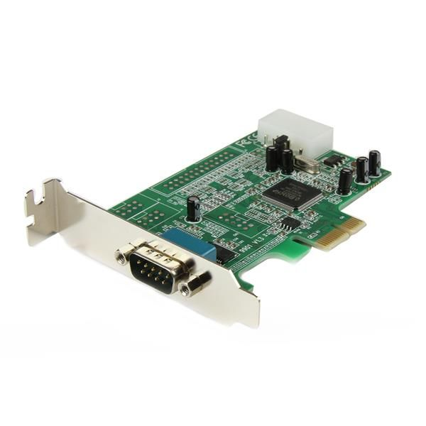 StarTech.com 1 Port Low Profile PCI Express Serial Card - 16550