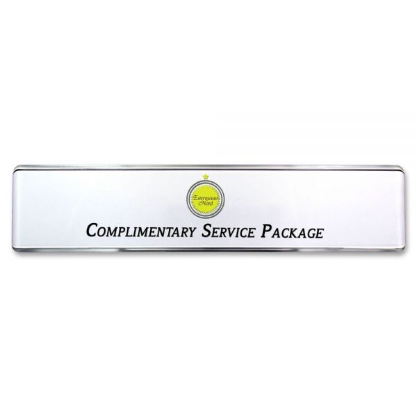 Mighty Badge Contemporary Desk Signage Kit