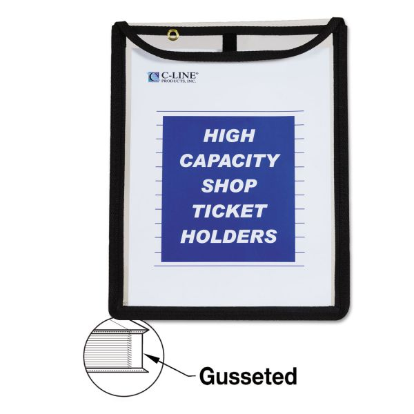 C-Line High Capacity, Shop Ticket Holders, Stitched, 150 Sheets, 9 x 12 x 1, 15/BX