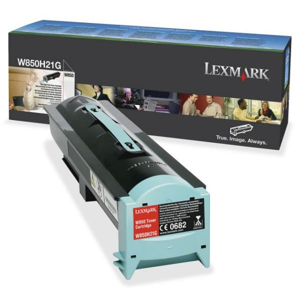 Lexmark W850H21G Black Toner Cartridge