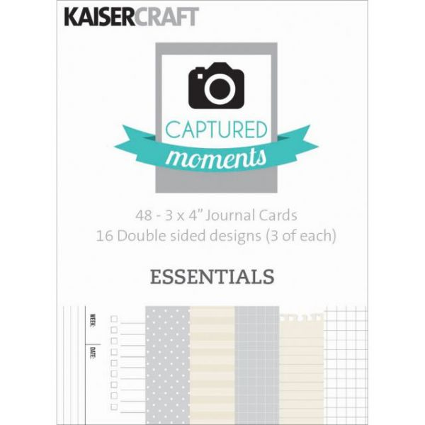 Captured Moments Double-Sided Journal Cards