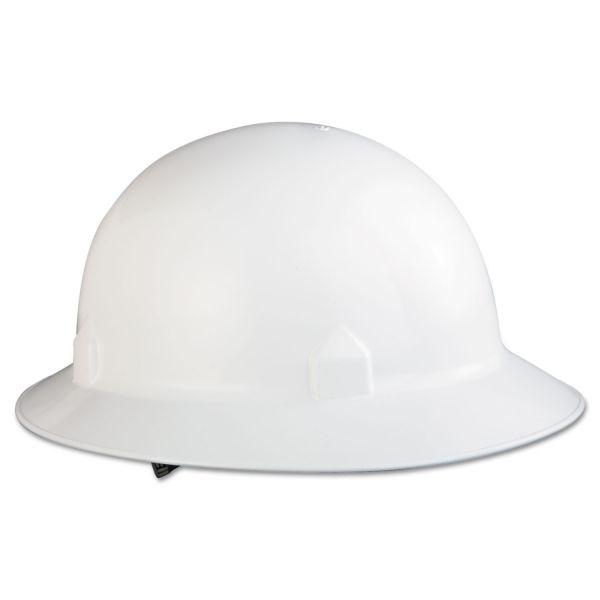 Jackson Safety* BLOCKHEAD Hard Hat with 8-Point Suspension, White