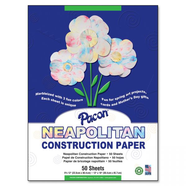 Pacon Neapolitan Construction Paper