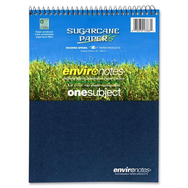 Envirnotes Wirebound 1-Subject Notebook