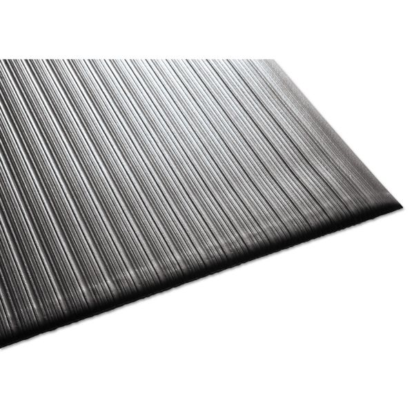 Guardian Air Step Antifatigue Mat, Polypropylene, 36 x 60, Black
