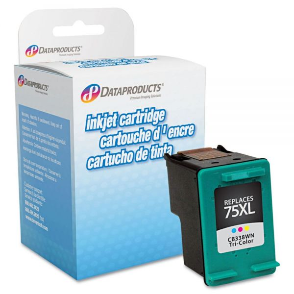 Dataproducts Remanufactured HP 75XL Color High Yield Ink Cartridge