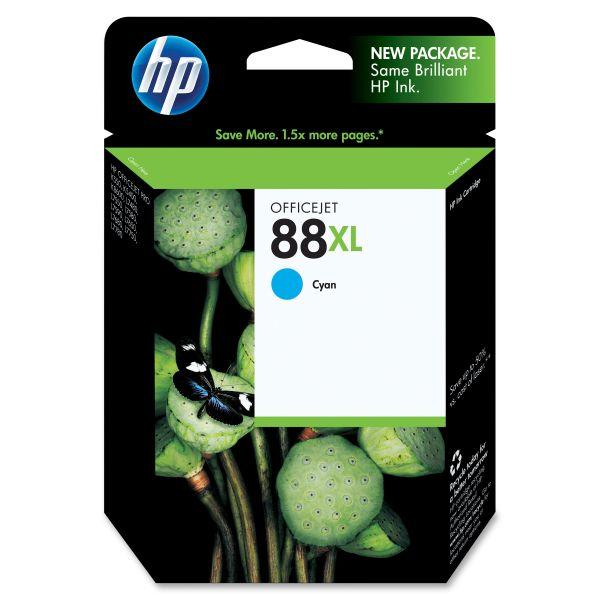 HP 88XL High Yield Cyan Ink Cartridge (C9391AN)