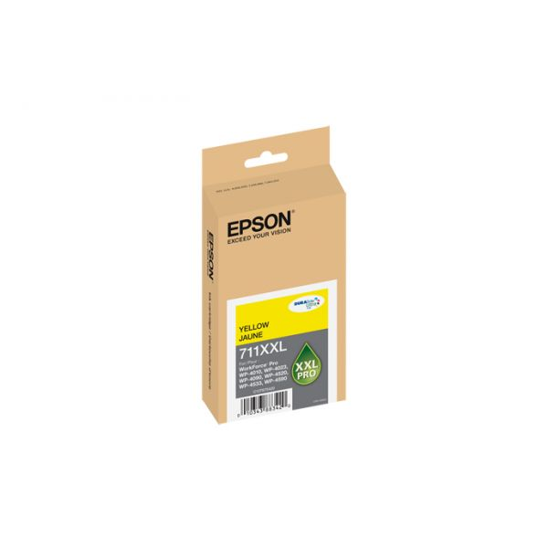 Epson 711 XXL Yellow High-Capacity Ink Cartridge (T711XXL420)