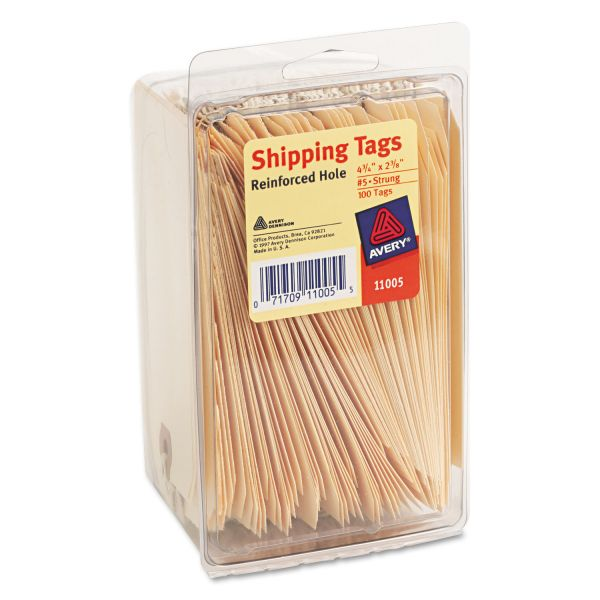 Avery #5 Strung Shipping Tags
