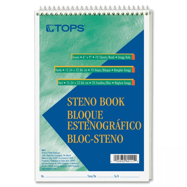 TOPS Steno Pad