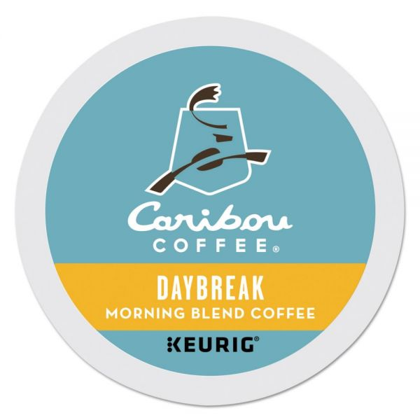 Caribou Coffee Daybreak Morning Blend Coffee K-Cups