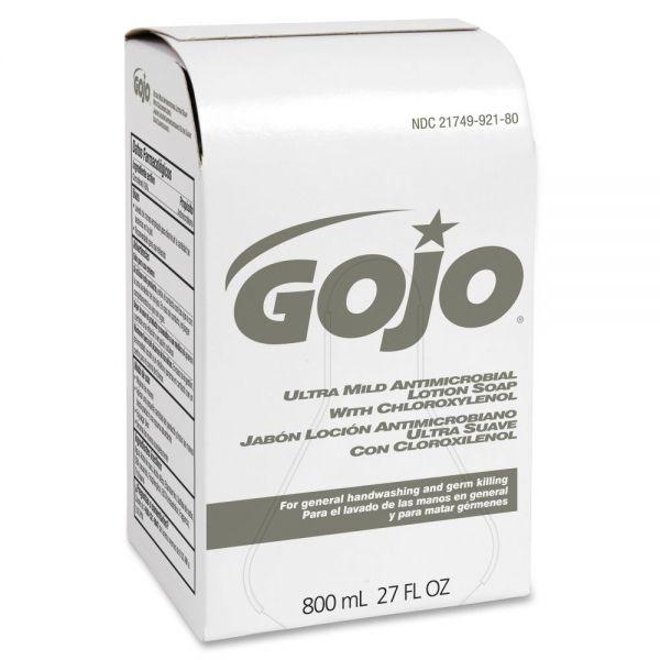 Gojo 800 ml Bag Refill Antibacterial Lotion Soap